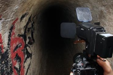 Duboko u podzemlju.