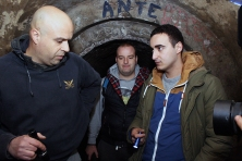 Leon Šurbanović iz UGRIP-a, Janko Denan - profesor istorije i Marko Ranisavljev, TV VICE.