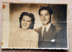 Jednina sačuvana fotografija Eme i Đilda Pesapanea